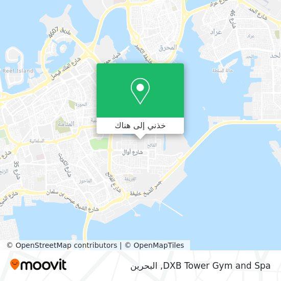 خريطة DXB Tower Gym and Spa