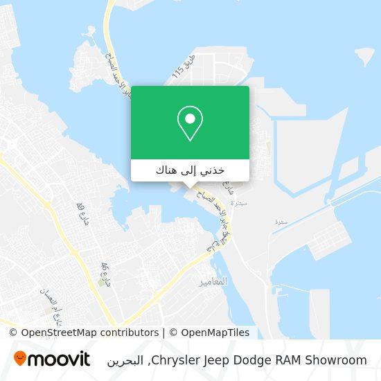 خريطة Chrysler Jeep Dodge RAM Showroom