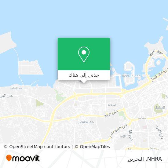 خريطة NHRA