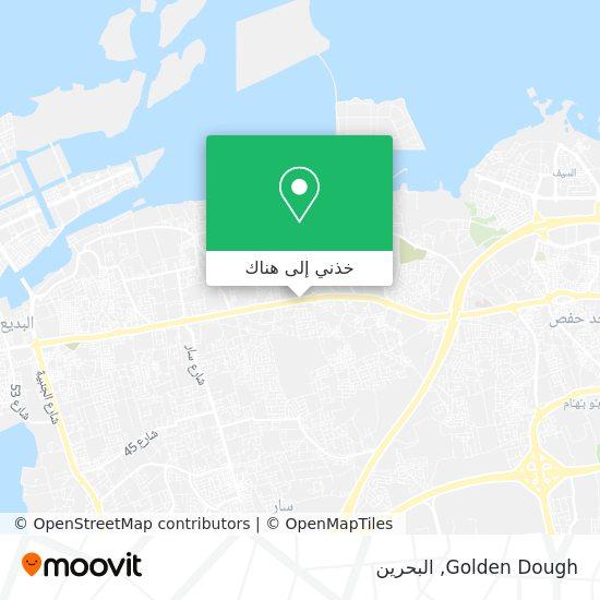 خريطة Golden Dough