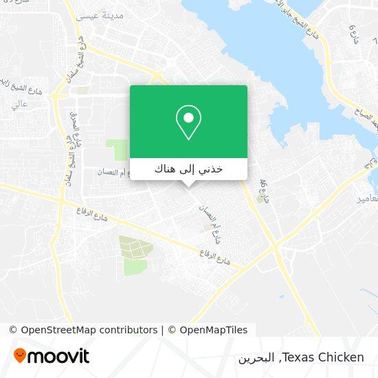 خريطة Texas Chicken