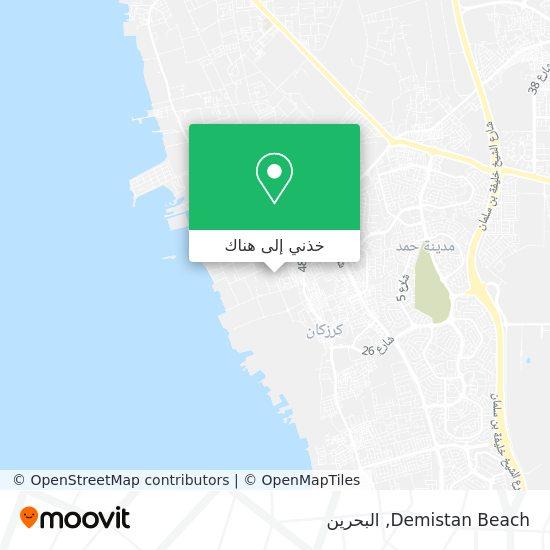 خريطة Demistan Beach