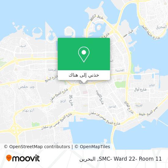 خريطة SMC- Ward 22- Room 11