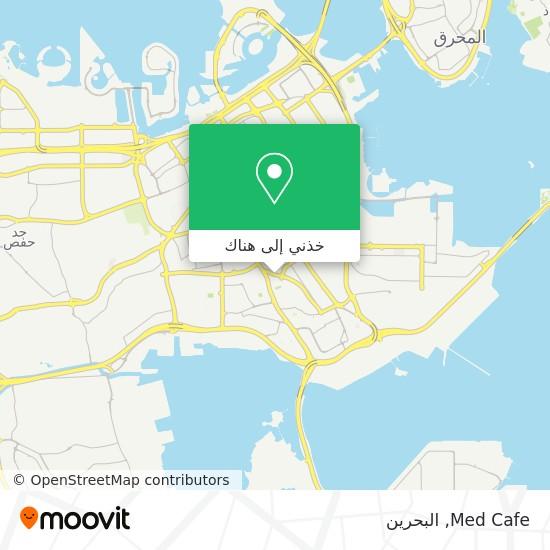 خريطة Med Cafe