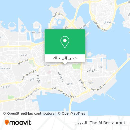 خريطة The M Restaurant