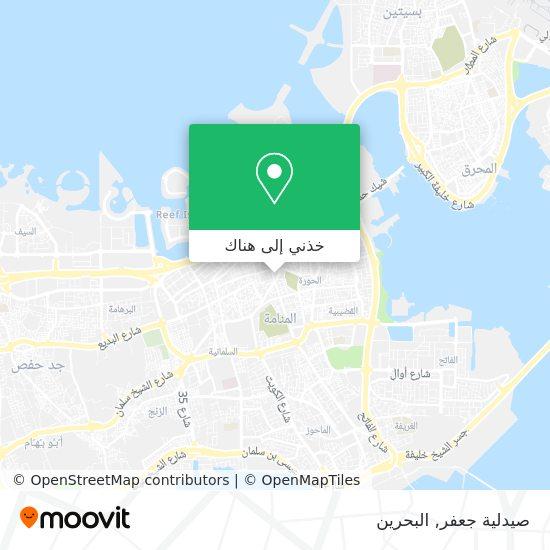 خريطة صيدلية جعفر