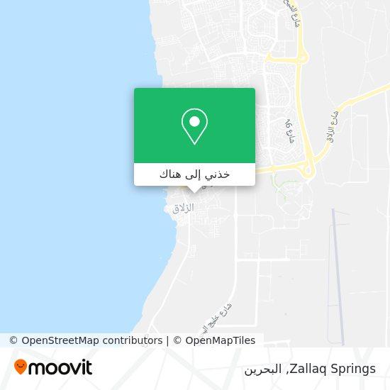 خريطة Zallaq Springs