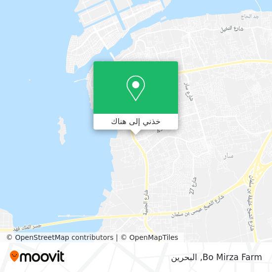 خريطة Bo Mirza Farm