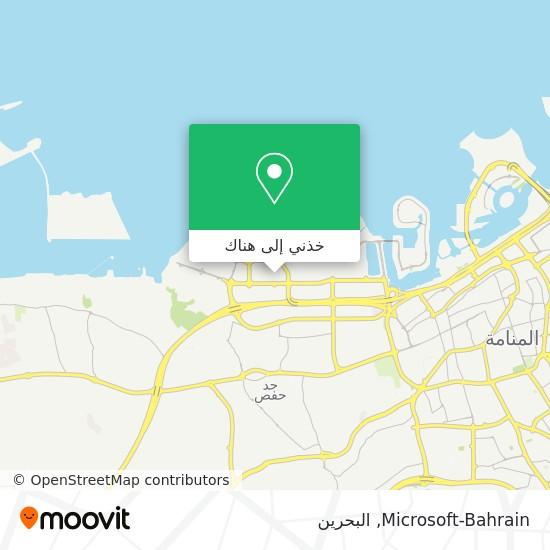 خريطة Microsoft-Bahrain