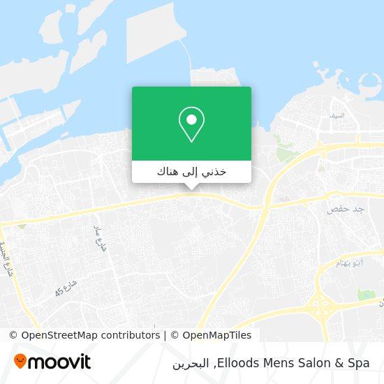 خريطة Elloods Mens Salon & Spa