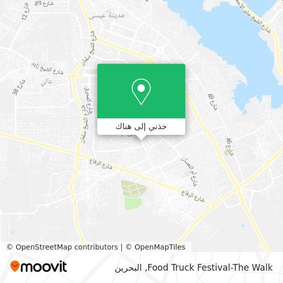 خريطة Food Truck Festival-The Walk