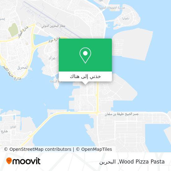 خريطة Wood Pizza Pasta