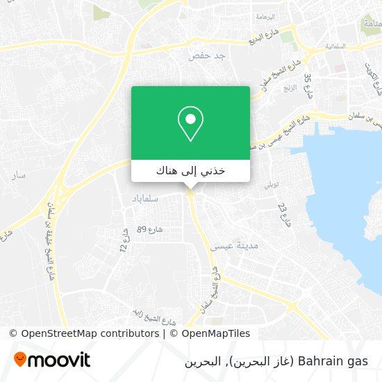 خريطة Bahrain gas (غاز البحرين)