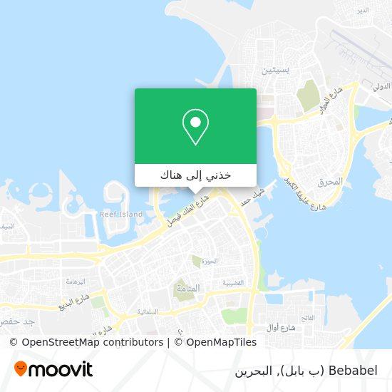خريطة Bebabel (ب بابل)