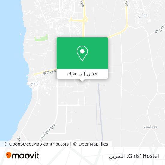 خريطة Girls' Hostel