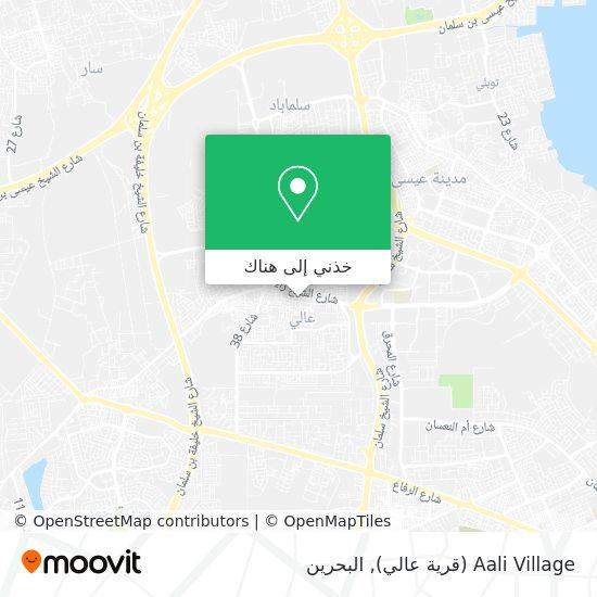 خريطة Aali Village (قرية عالي)