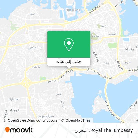 خريطة Royal Thai Embassy