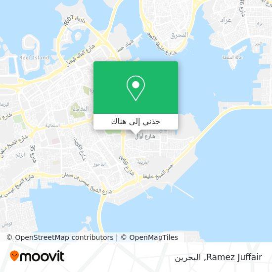 خريطة Ramez Juffair