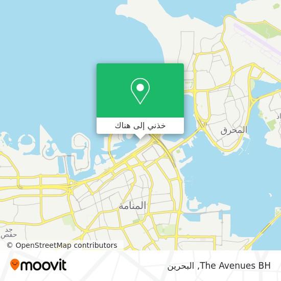 خريطة The Avenues BH