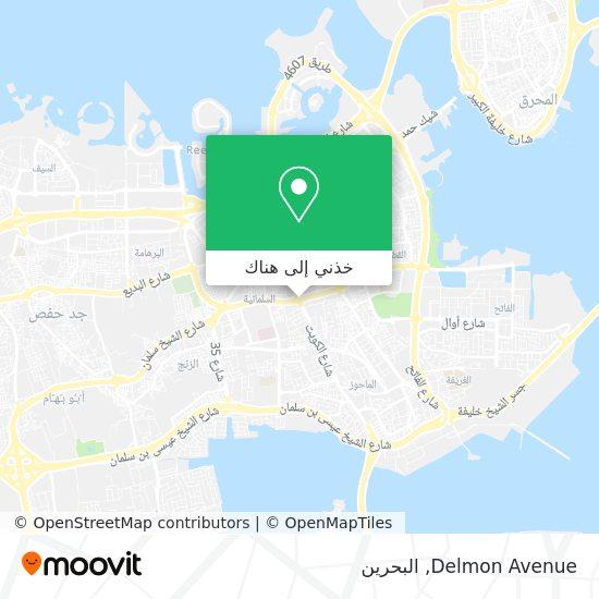 خريطة Delmon Avenue