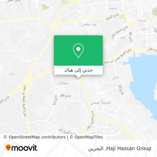 خريطة Haji Hassan Group