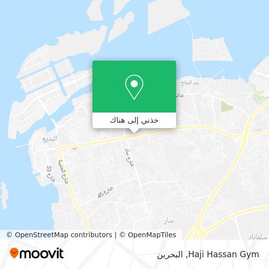 خريطة Haji Hassan Gym