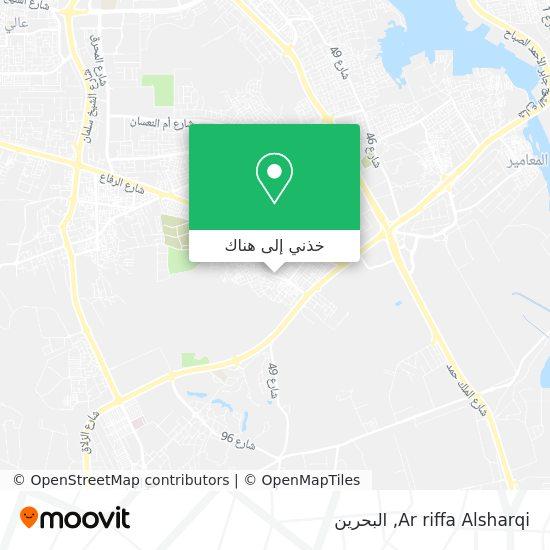 خريطة Ar riffa Alsharqi