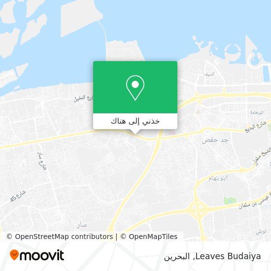خريطة Leaves Budaiya