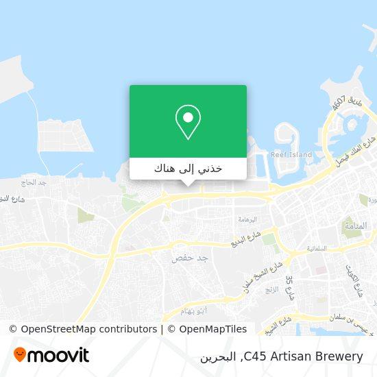 خريطة C45 Artisan Brewery