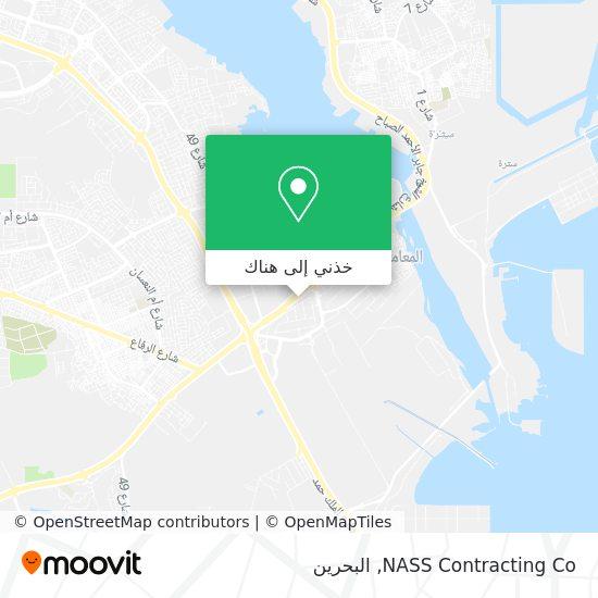 خريطة NASS Contracting Co
