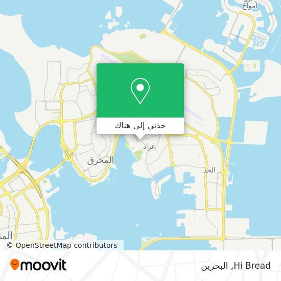 خريطة Hi Bread