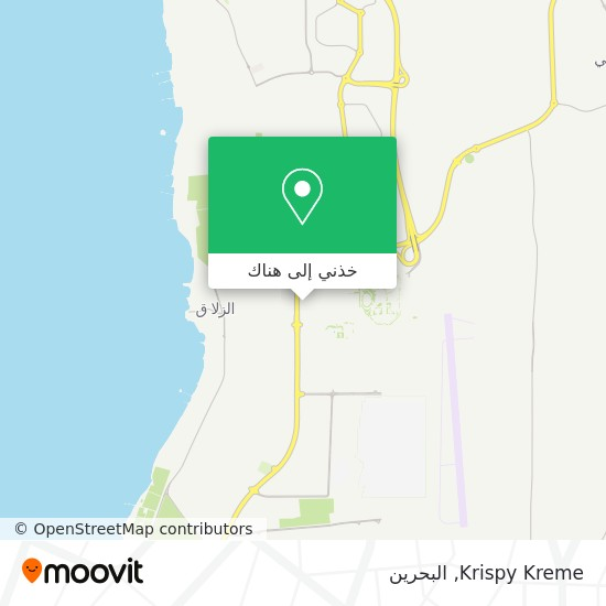خريطة Krispy Kreme