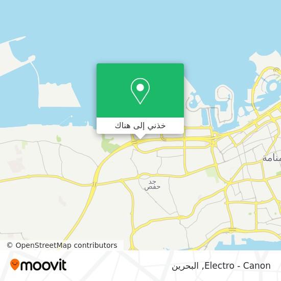 خريطة Electro - Canon