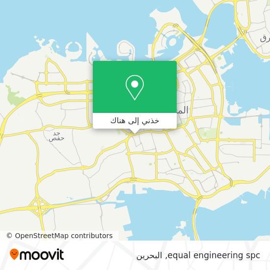 خريطة equal engineering spc
