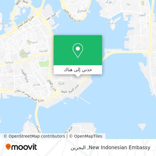 خريطة New Indonesian Embassy
