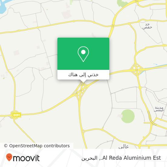 خريطة Al Reda Aluminium Est.