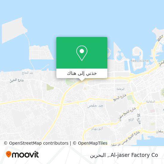 خريطة Al-jaser Factory Co.