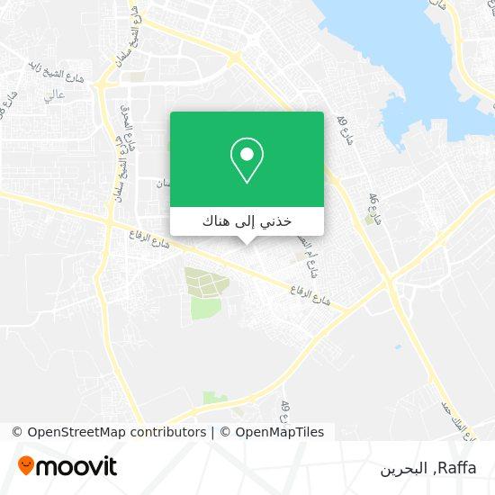 خريطة Raffa