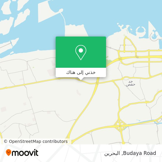 خريطة Budaya Road
