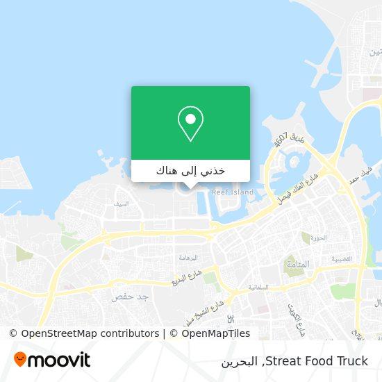 خريطة Streat Food Truck