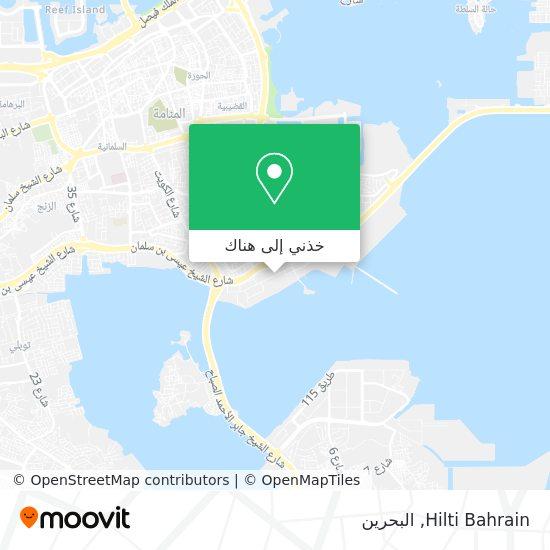 خريطة Hilti Bahrain