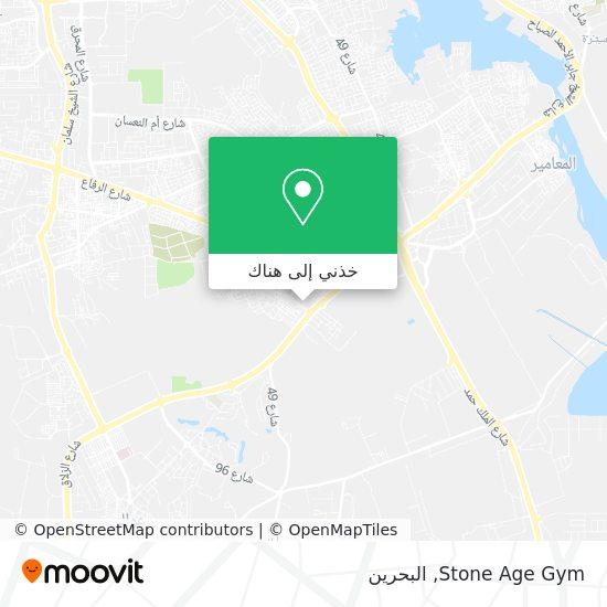 خريطة Stone Age Gym