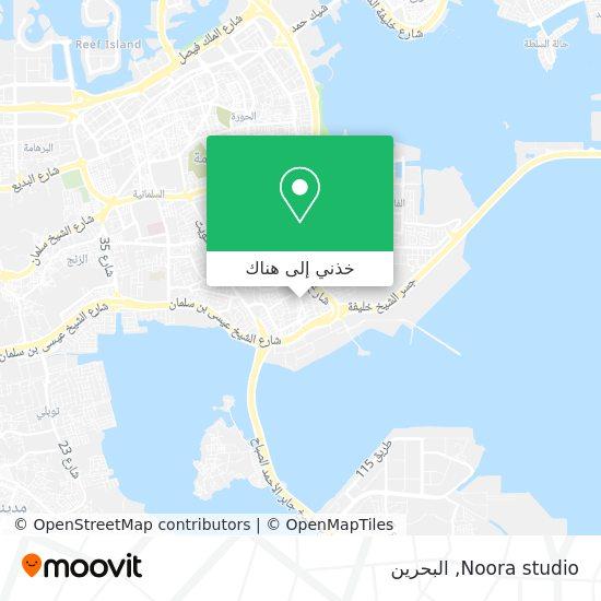 خريطة Noora studio