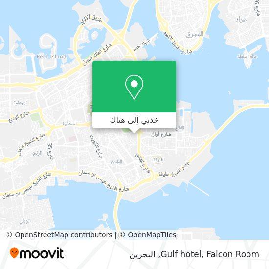 خريطة Gulf hotel, Falcon Room