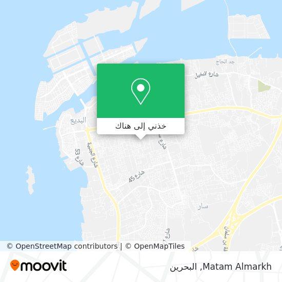 خريطة Matam Almarkh