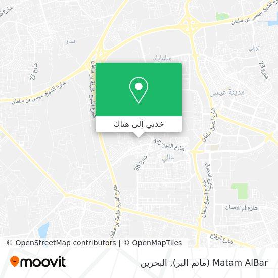 خريطة Matam AlBar (ماتم البر)