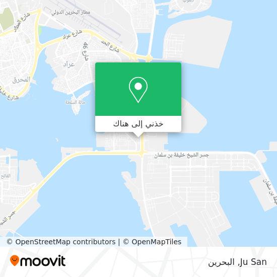 خريطة Ju San