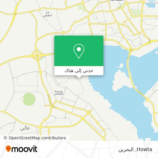 خريطة Howta