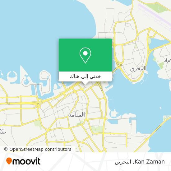 خريطة Kan Zaman