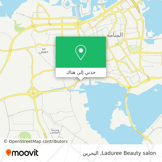 خريطة Laduree Beauty salon